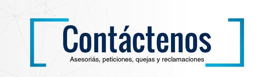 Banner para pagina de contactos